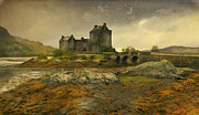 Roy Mcpeak Metal Prints - Eilean Donan Metal Print by Roy McPeak