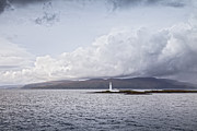 Argyll And Bute Prints - Eilean Musdile Lighthouse Scotland Print by Colin and Linda McKie
