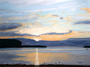 Tranquil Pastels - Eileens Sunset by George Burr