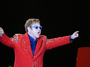 Elton John Photos - EJ plays soldout concert by Aaron Martens