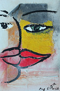 Yelow Framed Prints - El Beso 37 Framed Print by Jorge Berlato