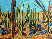 Bright Prints Painting Originals - El Bosque del Desierto by Gerhardt Isringhaus