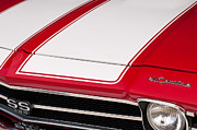 Red Chevy Chevelle Prints - El Camino 02 Print by Rick Piper Photography