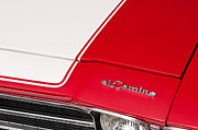 Red Chevy Chevelle Prints - El Camino 04 Print by Rick Piper Photography