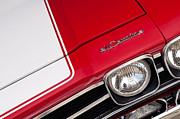 Red Chevy Chevelle Prints - El Camino 06 Print by Rick Piper Photography