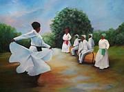 El Camino De La Bomba Print by Migdalia Bahamundi