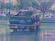 Real Drawings - El Camino Two by Donald Maier