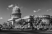 Cuban Photos - El Capitolio by Erik Brede