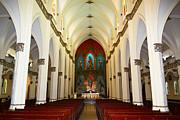 James Brunker - El Carmen Church Interior Panama City