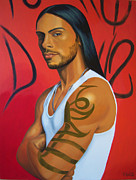 Macho Paintings - El Chicano by Robin White