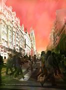 El Cielo De Madrid  Print by Alfonso Garcia