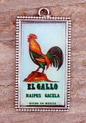 Rural Scenes Jewelry - El Gallo by Victoria Montgomery