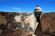 Caribbean Fort Prints Framed Prints - El Morro Fort Porto Rico Framed Print by Darlene Konieczny