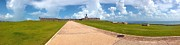 Dry Tortugas Prints - El Morro walkway Print by Carey Chen