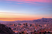 Down Town Prints - El Paso Print by JC Findley