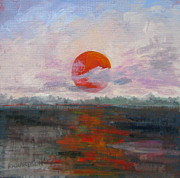 Florida Panhandle Painting Prints - El Sol Print by Susan Richardson