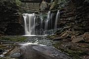 Dan Friend - Elakala Waterfall with swirling  pool