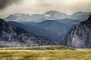 Photography Prints Prints - Eldorado Canyon and Continental Divide Above Print by James Bo Insogna