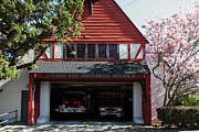 Old Country Roads Prints - Eldridge Fire Department Station 36 5D22229 Print by Wingsdomain Art and Photography