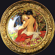 Younger Framed Prints - Eleanor Fortescue Brickdale Framed Print by Eleanor Fortescue Brickdale