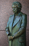 Flotus Prints - Eleanor Roosevelt Memorial Detail Print by John Cardamone