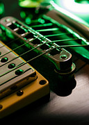Electric Guitar Photos - Electric guitar abstract by Ron Sumners