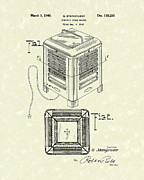 Indoor Drawings - Electric Heater 1940 Patent Art by Prior Art Design