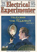 Nineteen-tens Art - Electrical Experimenter  1918 1910s Usa by The Advertising Archives