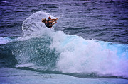 Ocean Art Photos Originals - Electrifying Surfer by Heng Tan