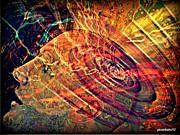 Electromagnetic Waves Print by Paulo Zerbato