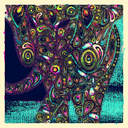 Elefantos - Ptjs01a Print by Variance Collections