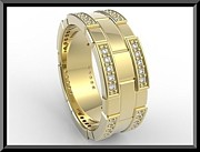 Roi Avidar - Elegant 14k Yellow Gold...