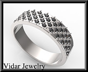 Roi Avidar - Elegant Black Diamond...