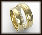 Roi Avidar - Elegant His And Hers 14K...