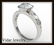 Roi Avidar - Elegant Moissanite And...