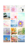 Tropical Pacific Island Art Posters - Elements Poster by Sharon Mau