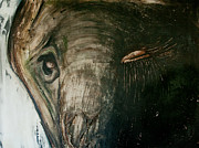 Southeast Asia Paintings - Elephant in the Dark by Justine Tiburzi