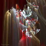 Print Digital Art Originals - Eleven kilometers below the surface. 2013 70/70 cm.  by Tautvydas Davainis