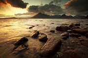 Scottish Highlands Prints - Elgol Print by Grant Glendinning