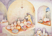 Jerusalem Paintings - Elishas Blessing by Michoel Muchnik