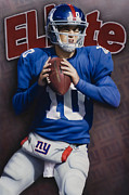 Eli Manning Prints - ELIte Print by Rob Jackson