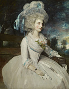 Warwick Painting Prints - Elizabeth Countess of Warwick Print by Mountain Dreams