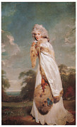 Portrait Of Woman Framed Prints - Elizabeth Farren Framed Print by Sir Thomas Lawrence