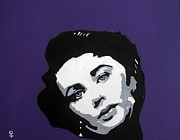 Painted Image Mixed Media - Elizabeth Taylor by Venus