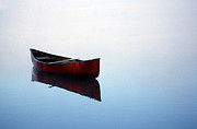 Canoe Photo Prints - Elizabeths Canoe Print by Skip Willits