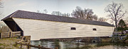 Howe Posters - Elizabethton Covered Bridge Poster by Heather Applegate
