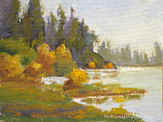Fall Season Originals - Elk Island 3 by Mohamed Hirji