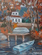 Tony Caviston - Elk Lake Autumn