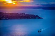 Inge Johnsson - Elliott Bay Sunset