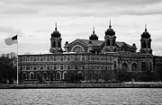 Huddled Framed Prints - Ellis Island New York City Framed Print by Joe Fox